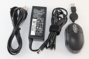 Original Dell 19.5V 3.34A 65W New Design AC Adapter For Dell Notebook Model Numbers: Dell Vostro 1440, Dell Vostro 1450, Dell Vostro 1500, Dell Vostro 1510, Dell Vostro 1510n, Dell Vostro 1520, Dell Vostro 1540, Dell Vostro 1540-469-1145. 100% Compatible With Dell P/N: PA-12, PA-1650-02DD, 0928G4, 928G4, PA-1650-05D2, U7088, F7970, N2765, 450-10484, AA22850, PA-1650-05D, 310-4408, 1X917, HP-OQ065B83, 310-2860, 310-3149, 5U092, N6M8J, TJ76K, KT2MG, DA65NS4-00, LA65NS2-01, HA65NS-00, ADP-65AH B, TR82J, 0TR82J, 331-0536, PA-2E. Bundle - 3 items: AC Adapter, Power Cord and MegaPlus Optical Mouse - Black.