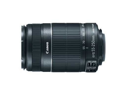 Canon EF-S 55-250mm f 4.0-5.6 IS II Telephoto Zoom Lens for Canon Digital SLR Cameras