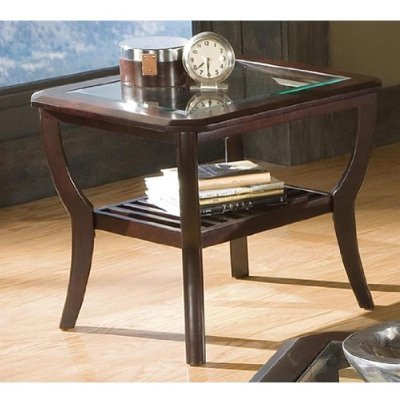 Cheap Home Line Antique Cherry End Table T433E (T433E)