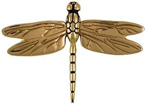 Michael healy designs mh1011 dragonfly in flight door knocker brass bronze home - Michael healy dragonfly door knocker ...