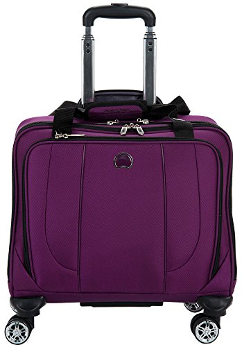 Delsey Luggage Helium Cruise Spinner Trolley Tote, Purple, One Size (Spinner Trolley Tote compare prices)