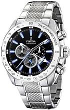 Comprar FESTINA F16488/3 - Reloj de caballero de cuarzo, correa de acero inoxidable color plata