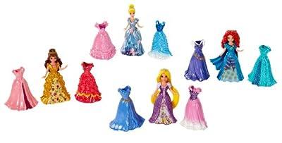 Disney Princess Little Kingdom Magiclip Fashion Giftset from Mattel