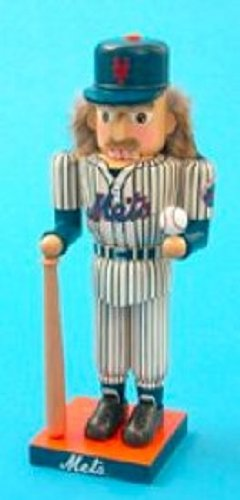 Kurt Adler 14-Inch New York Mets Baseball Player Nutcracker at Amazon.com