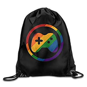 Carina Rainbow Gay Pride Game Handle Fashion Bag Storage Bag One Size