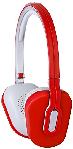 Altec Lansing Over The Head Foldable Headphone Red 021331548887
