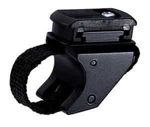 Trelock Fahrradbeleuchtung Variotexhalter ZL 700, schwarz/grau, 4032191674568