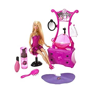 Barbie Hair Games on Barbie Hair Salon Doll  Amazon Co Uk  Toys   Games