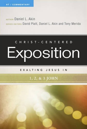 Exalting Jesus in 1,2,3 John (Christ-Centered Exposition Commentary) (Commentary 1 John compare prices)