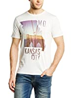 Lee Camiseta Manga Corta Kansas Tee (Blanco)