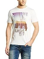Lee Camiseta Manga Corta Kansas Tee (Blanco)