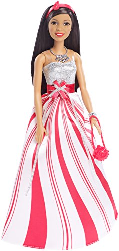 Barbie 2016 Holiday African-American Doll