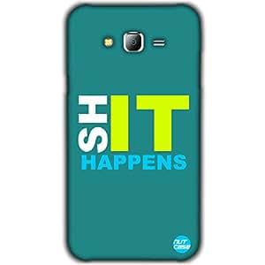 Designer Samsung Galaxy J7 Case Cover Nutcase -ShIT Happens