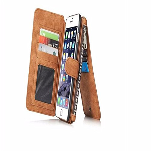 Sale!! For iPhone 6/6S Plus Case,Charminer Multi Function Card Wallet Leather wallets phone case 5.5...