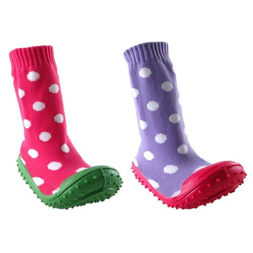 Cheap girl non skid rubber sole socks discount review shop