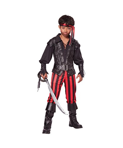 Boys Buccaneer Pirate Costume