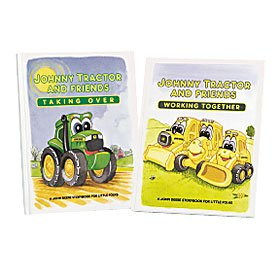 Johnny Tractor and Friends 'Working Together' Construction Book - 1