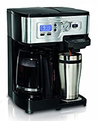 Hamilton Beach 49983 2-Way FlexBrew Coffeemaker (Certified Refurbished) made by Hamilton Beach