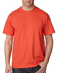Gildan Adult Ultra Cotton T-Shirt, Paprika, Small. 2000