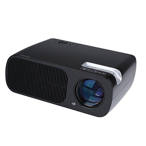 Crenova xpe600 portable hd projector 2600 lumens review for Hd portable projector reviews