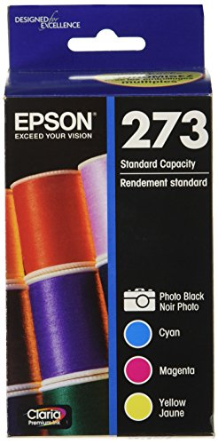 Epson T273520 Epson Claria Premium 273 Standard-capacity Color Multi-pack – Cyan, Magenta, Yellow, Photo Black (T273520) Ink