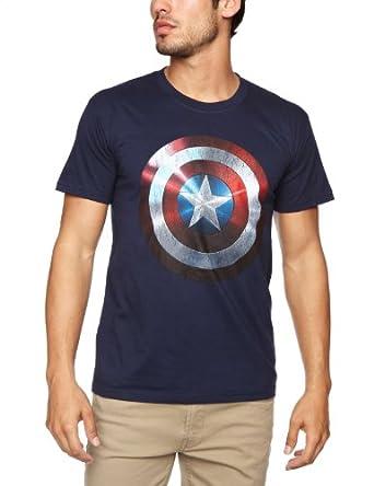 Bravado - T-Shirt - Homme - Bleu (Navy) - FR: Medium (Taille fabricant: Medium)