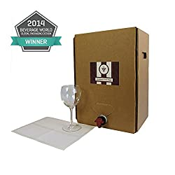 Astropaq Wine Bag-In-Box Kits [Eco-Friendly Wine Bottle Alternative] - Easily Bottle, Dispense & Store Your Wines - Perfect For Home Winemakers (Bag In Box Kits, 2x 20L, 2 Carboy equivalent)