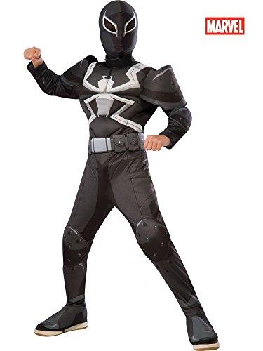 Rubies-Costume-Spider-Man-Ultimate-Deluxe-Child-Agent-Venom-Deluxe-Costume