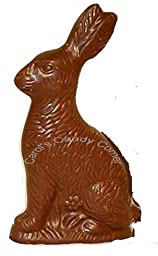 Easter Sitting Bunny Solid Milk Chocolate (6 Oz)