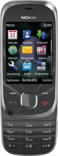 Nokia 7230 Slide Graphite Gray Unlocked Import (Nokia Slide compare prices)