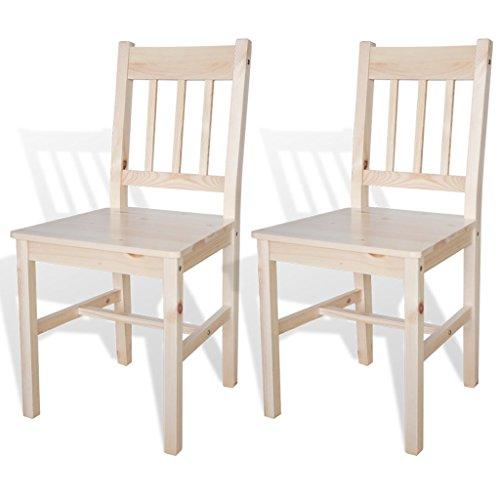 Anself-Kchenstuhl-Stuhlgruppe-aus-Holz-2-Stck-Naturholz