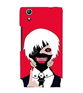 Scary Joker 3D Hard Polycarbonate Designer Back Case Cover for Micromax Canvas Selfie 2 Q340