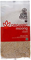 Pure & Sure Organic Moong Dal, 500g