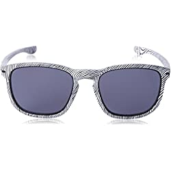 Oakley Enduro Sunglasses (White Fingerprint/Grey)