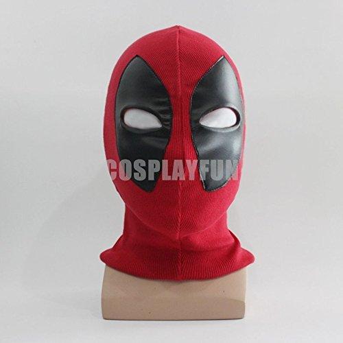 [Deadpool Balaclava Halloween Cosplay Costume X-men Full Face Mask] (666 Halloween Costume)