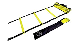 Pepup Super Flat Adjustable Speed Agility Ladder (6M with 12 rungs)