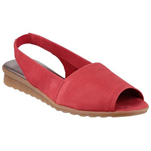 The Flexx - Fantazee - Sandali punta aperta - Donna (39 EU) (Rosso)