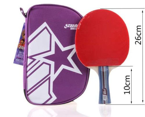 100% Genuine DHS 2002 Table Tennis Paddle Racket Bat Shakehand Long Ping-Pong