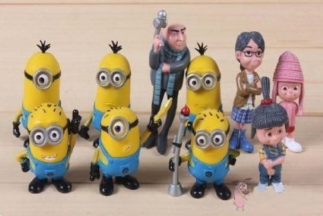 E-busienss-Despicable-Me-2-Minions-Action-Figure-Doll-Toys-10pcsset