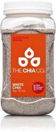 The Chia Co ホワイト チアシード 1kg