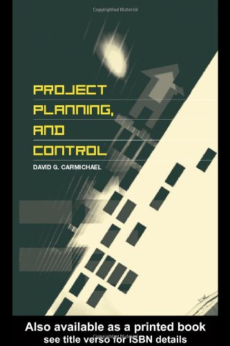 Project Planning, And Control