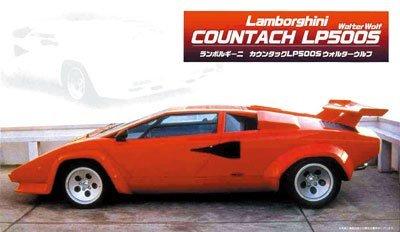 Fujimi 1/24 Lamborghini Countach LP500 (Left Hand Steering)