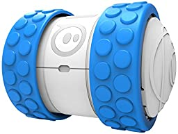 Sphero Ollie App-Enabled, App-Controlled Driving Robot for iOS and Android - Retail Packaging - White/Blue