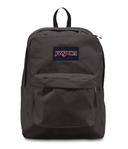 Jansport Superbreak Backpack (Forge Grey) front-773345