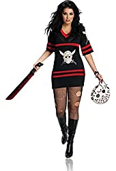 Friday The 13th Secret Wishes Full Figure Miss Voorhees Costume