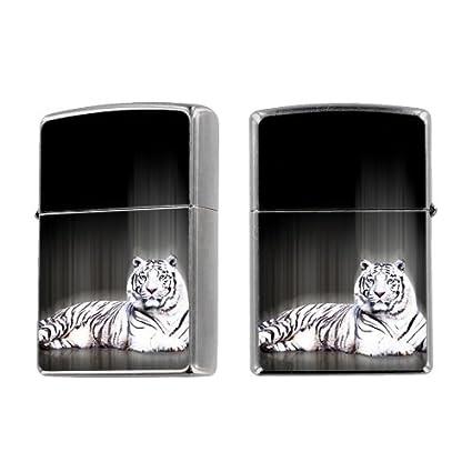 Lighter Black Skin Zippo Lighter Black Tiger