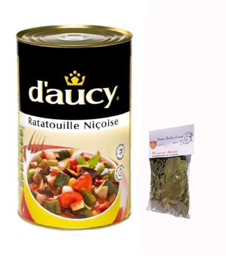 French Ratatouille From Nice 15 Serving D' Aucy - 1 X 132,28 Oz Each Can + 1 X Bag Of Bouquet Garni Théodore Bardin-Cuinet Ratatouille Niçoise