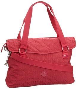 Kipling Messenger Bag EUNICE MA,  red - Rot (Peony Logo 142), K12120142