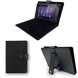 """Time2® NEW 7"""" Inch Leather Look Case (WITH STAND) For Protection Of Your 7"""" Tablet PC Pad Device."""