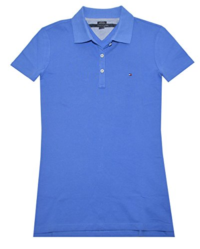 Tommy hilfiger women classic fit logo polo t shirt s for French blue t shirt